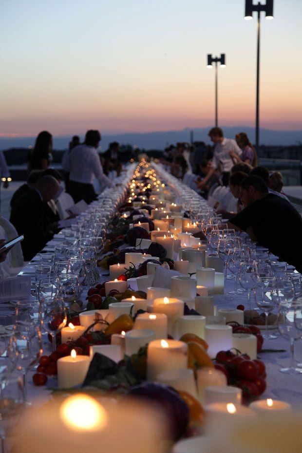 A mediterranian dinning experiance