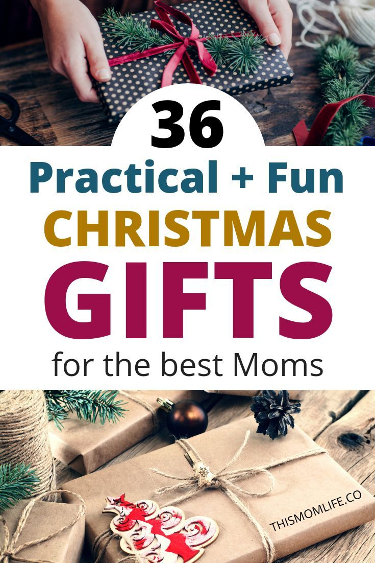 Find The Unique Christmas Gift For Mom On This Practical Useful And Fun List Of Ideas She Deserves Best From Kids Dad
