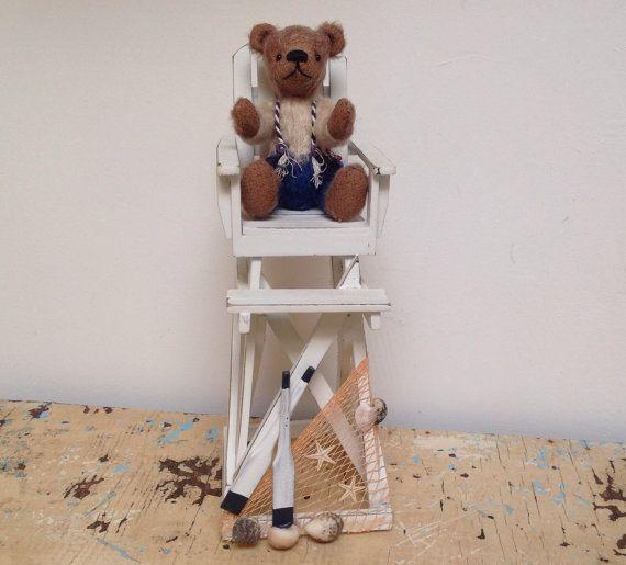 Handmade artist Teddy Bear fully jointed mohair by karmolijntje