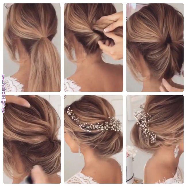 Pin Von Tintus Auf Pitkat Hiukset Im Jahr 2019 Pinterest Frisuren Haare Und Sho Short Hair Updo Long Hair Styles Short Wedding Hair
