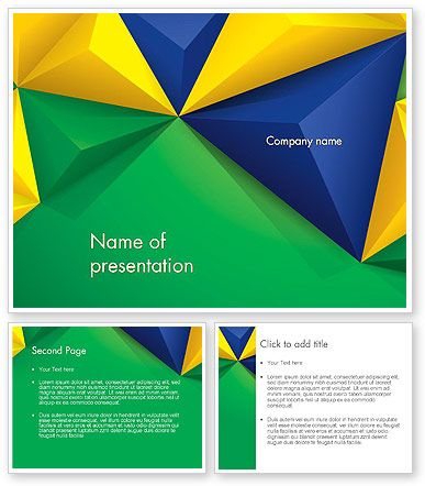 http://www.poweredtemplate.com/12179/0/index.html Abstract Geometric Triangles PowerPoint Template