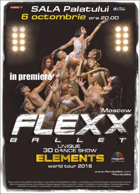 Flexx Ballet - Unique 3D Dance Show- 06 Oct 2016
