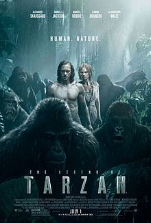 The Legend of Tarzan is a 2016 American action adventure film based on the fictional character created by Edgar Rice Burroughs. Directed by David Yates and written by Adam Cozad and Craig Brewer,[3] the film stars Alexander Skarsgård as the title character, with Samuel L. Jackson, Margot Robbie, Djimon Hounsou, Jim Broadbent, and Christoph Waltz in supporting roles.