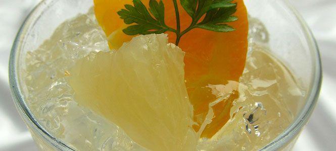 Recept na grapefruitové smoothie se skořicí