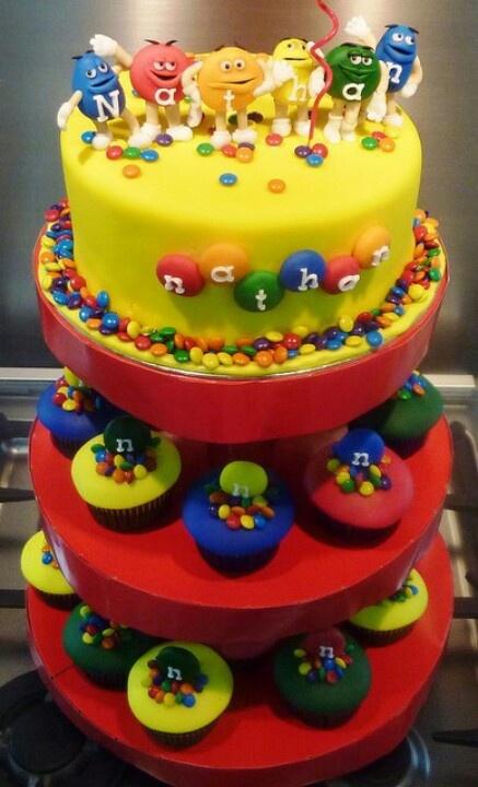 26 best images about m m theme cookies cakes ideas for for Decoration gateau m m s