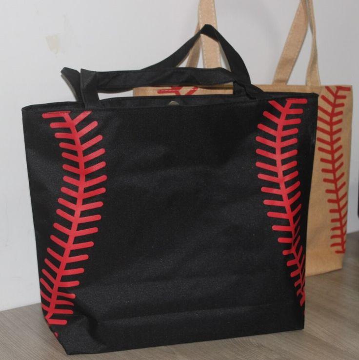 3 colors small baseballl cycling Lady Canvas Bag Shoulder baseball bag Women's Handbag Cute Canva Tote Bag basketball bag