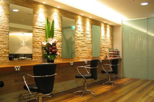 interior design for hair salon Picture