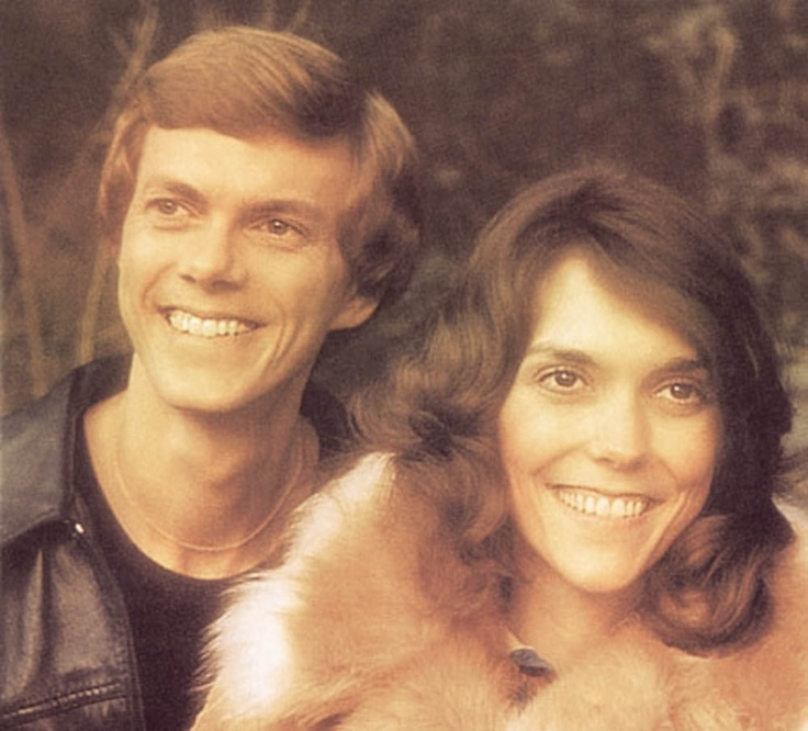 The Carpenters. Karen had a one in a million voice. Brother Richard and Sister…