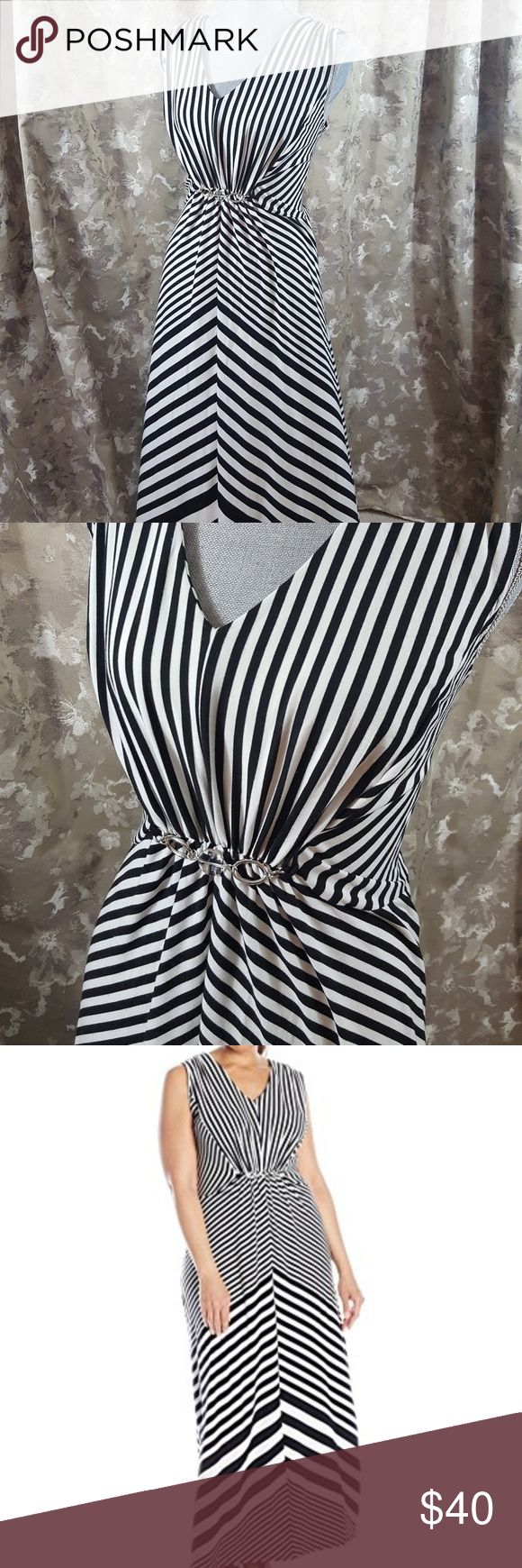 Notations Maxi dress NWOT MADE in Mexico . 76% polyester 20% rayon 4% spandex . Bundle to receive better deal FAST SHIPPING !!! Notations Dresses Maxi