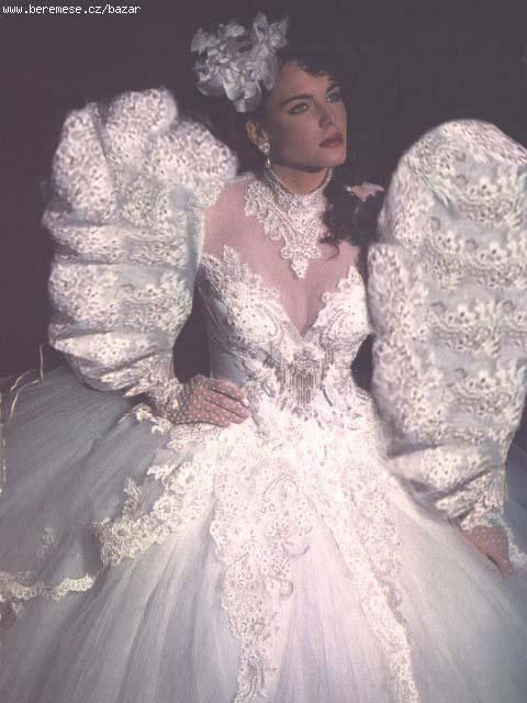 132 best 80s 90s wedding dresses images on pinterest short i love the gown but for me i think junglespirit Choice Image