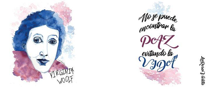 No se puede encontrar la paz evitando la vida. Frases Virginia Woolf