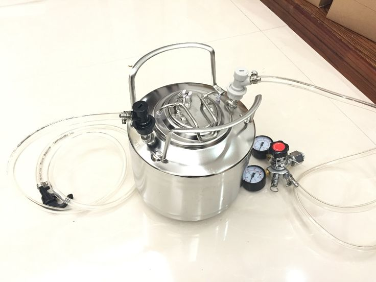 promo 6l cornelius style stainless steel beer keg faucet tubing kit co2 beer regulator kit #stainless #steel #tubing