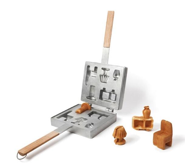 Tapeten Skandinavien Stil : Tiny Waffle Maker