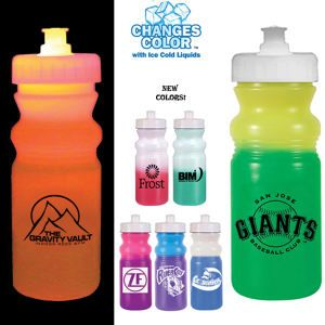 In the Mood-Mood Changing Water Bottles from School Spirit Store