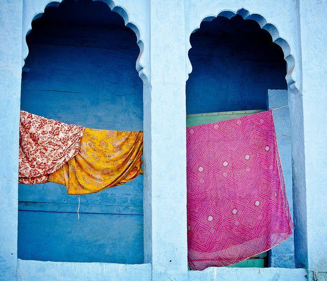 Clothesline Jodhpur by yemanja79 on Flickr.