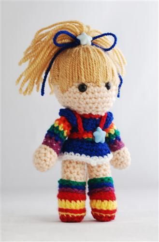 I wish I could make this Rainbow Bright...my daughter used to LOVE her and probably would still like to have her for a keep sake  :)