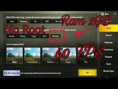 Cara Setting Grafik Extreme Pubg Mobile Di Hp Ram 2GB, Hp