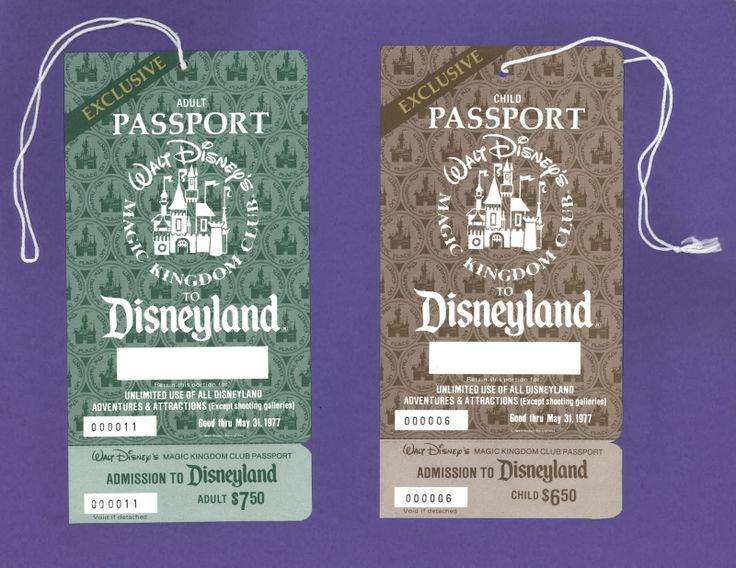 I don't remember Disneyland tickets being this cheap in 1977. Why didn't we go more often?