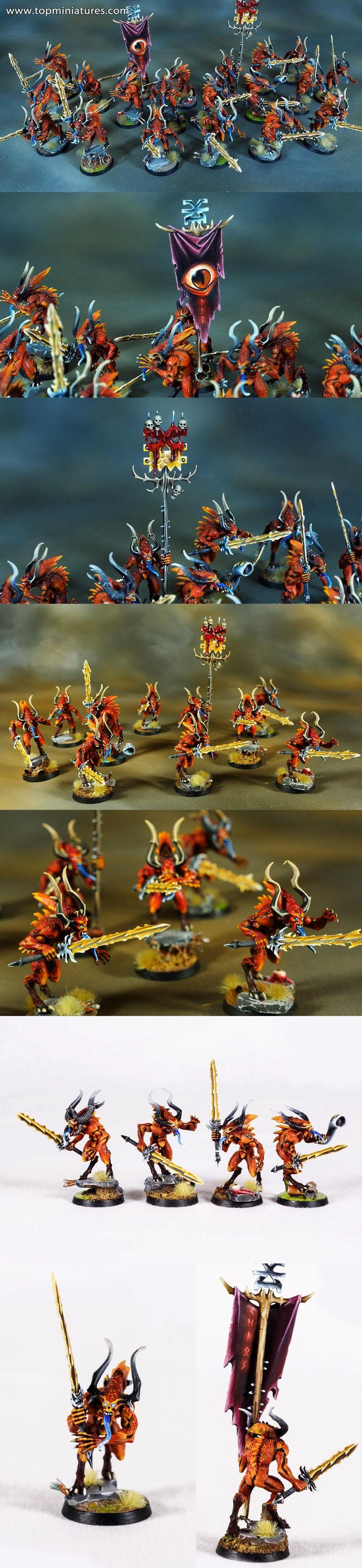Warhammer 40k chaos daemons bloodletters of khorne