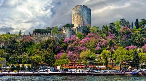 rumeli hisarı - erguvanlar - istanbul #istanbul #turkey