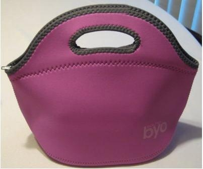 This is a great lunch bag for kids or adults. I love that it can go in the washing machine!  Only $10.50 at podsnpeels.ca.  Made from neoprene and is lead free, BPA free and insulating.  Great bag!