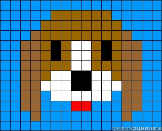 Dog.  14 Across/11 Down (without border)