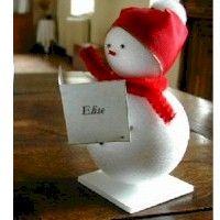 Snowman_placecards Craft