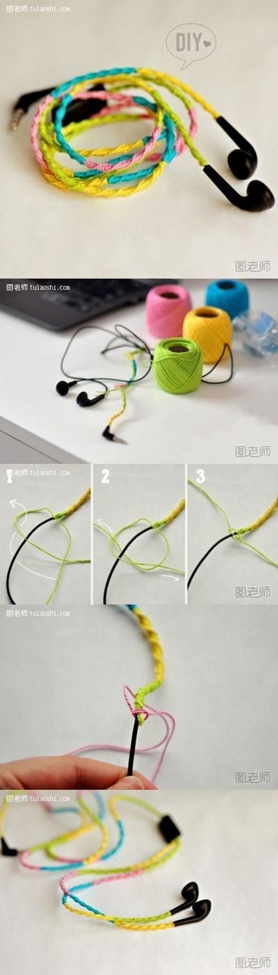 How to make your own unique colorful ear plug decoration step by step DIY instructions How to make your own unique colorful ear plug decoration step by step DIY instructions by diyforever