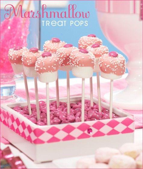 cupcake marshmellow pops