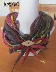 Resultado de imagen para cuellos de lana hechos a mano
