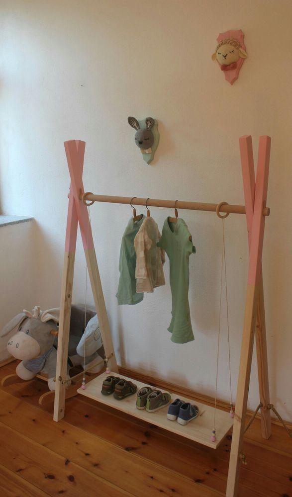 Garderobe Kleiderständer Baby Kind Kinderzimmer rosa Schrank Regal Mädchen | Möbel & Wohnen, Klein- & Hängeaufbewahrung, Kleiderständer | eBay!