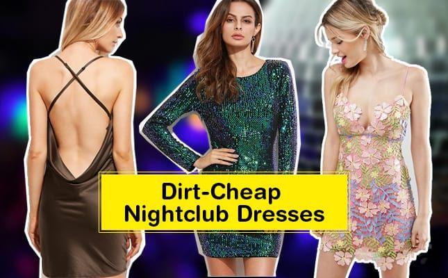 Dirt Cheap Nightclub Dresses