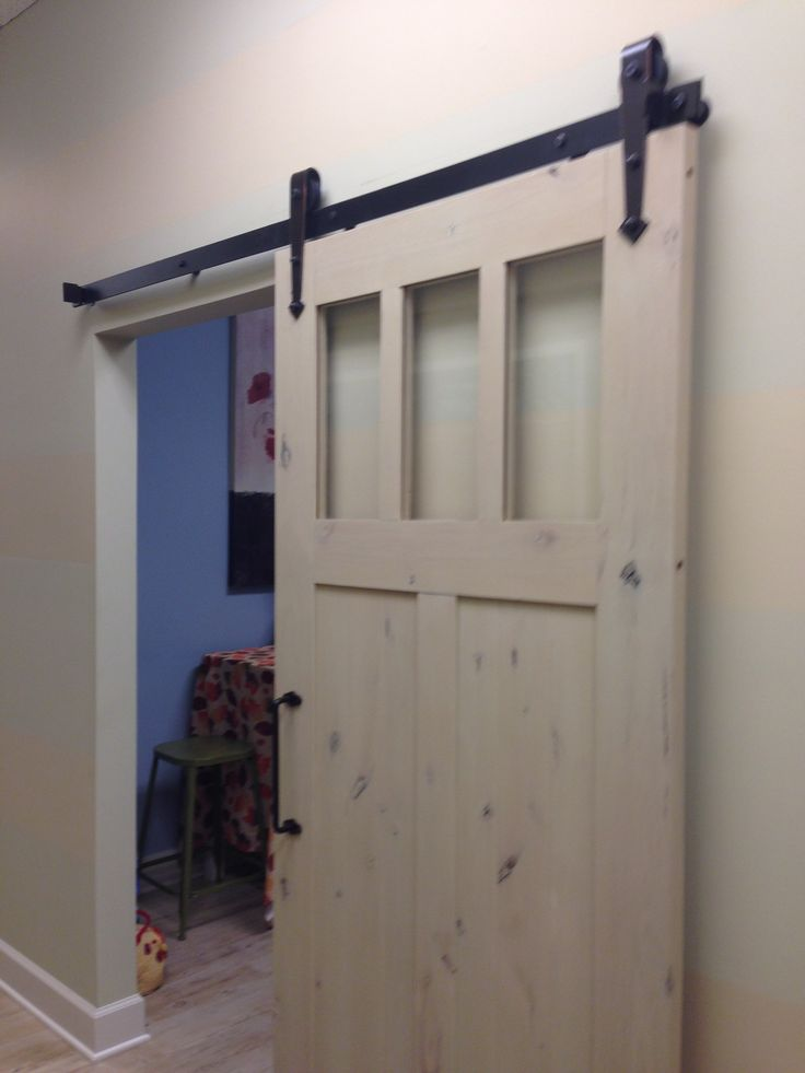 Somehow getting this barn door in my house