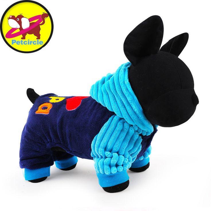 2016 Moda Eu amo papai e mamãe Petcircle Dog Pet inverno roupas Roupas Casacos Casaco de Inverno Roupas Para Animais de Estimação Pequeno Cão de Grande Porte