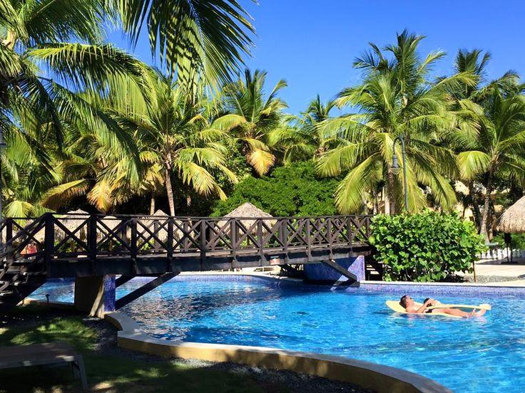 A beautiful sunny day at the pools at Dreams Punta Cana Resort & Spa! Thanks to Rachel C. for sharing!