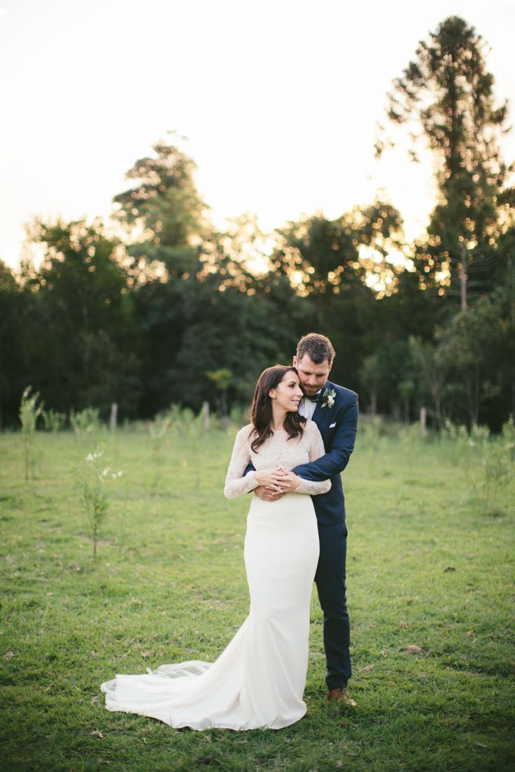 An Elegant Modern-Vintage Wedding with a Marquee Reception // Photography - White Images