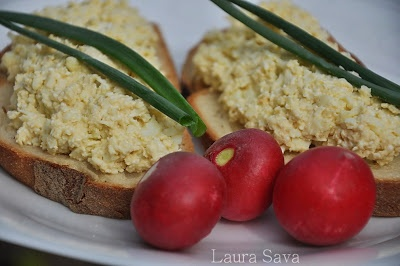 Salata de oua rapida