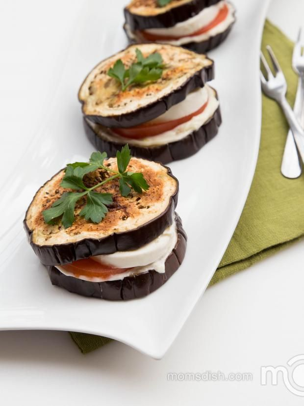 Eggplant Sandwiches Recipe- filling, gluten free and healthy! YUmm!