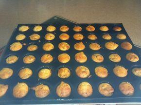 Mini muffins au jambon cru