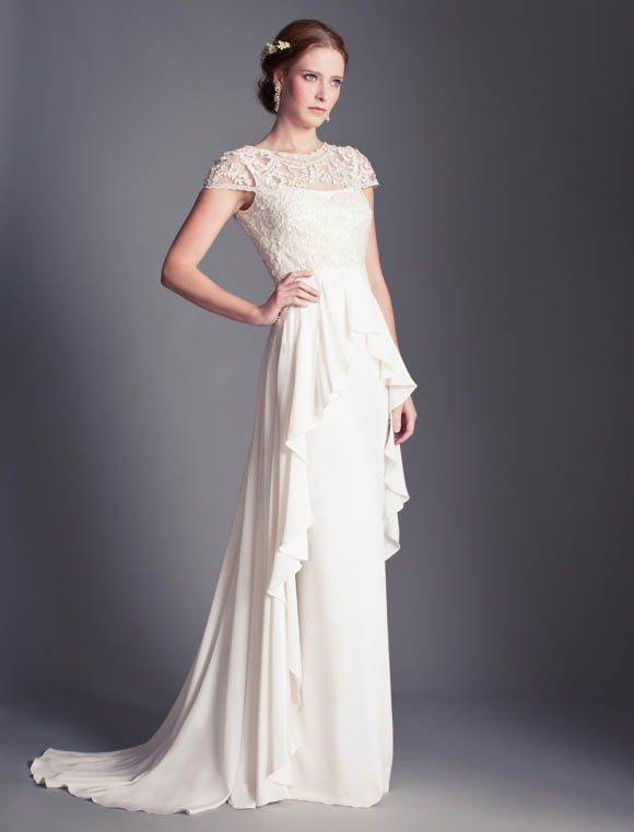 The Temperley Bridal Florence 2013 Collection ~ Elegance and Sophistication Inspired by Film Noir Screen Sirens... - Love My Dress Wedding Blog