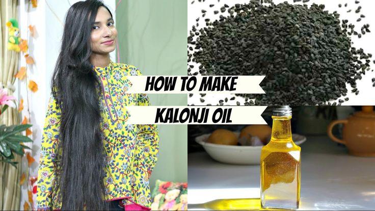 How to Make Kalonji Oil? घर पर बनाये कलौंजी तेल लंबे बाल पाने के लिए | क...