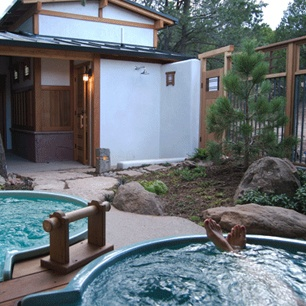 Ten Thousand Waves, mountain spa resort near Santa Fe, New Mexico that feels like a Japanese onsen