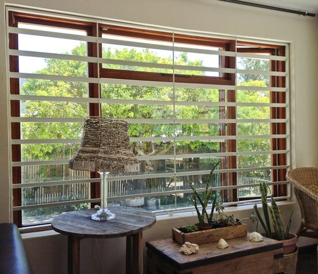 Sleek burglar bars that you can get from Shutterway. Only installed in various cities in South Africa at the moment though.