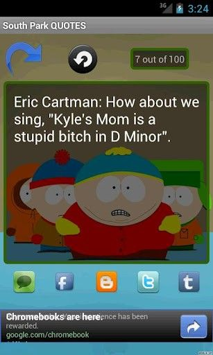 south park quotes | View bigger - South Park QUOTES for Android screenshot