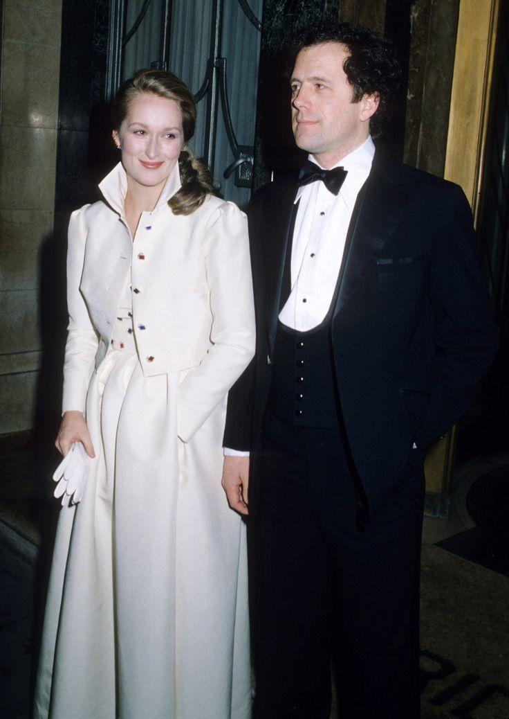 Meryl Streep and her husband, Don Gummer — 1980