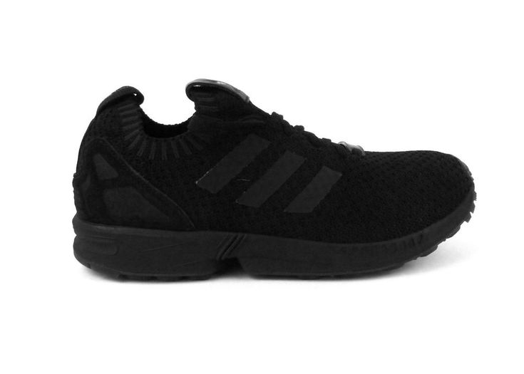 adidas men\u0027s ZX Flux PK running shoes sneakers trainers size 8 Black NIB