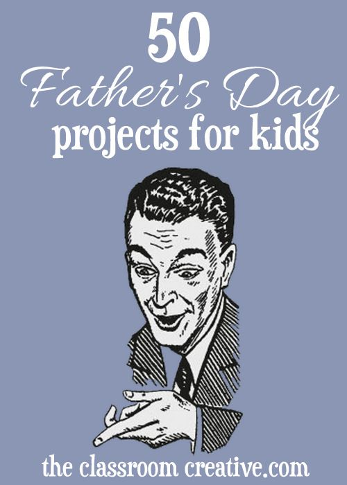 Over 50+ Father's Day crafts and activities!