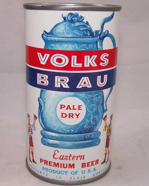 Volks Brau Pale Dry, USBC 143-39, Grade 1/1+ – Beer Cans Plus