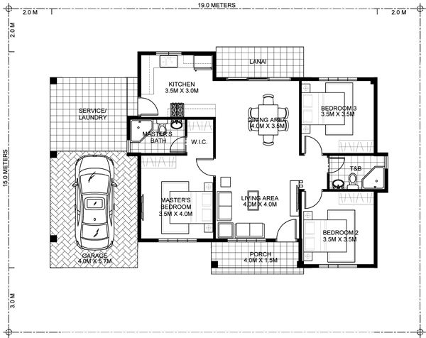 Small House Map Designs That Will Achieve Your Dream In Small Space Decor Units Single Storey House Plans Three Bedroom House Plan Small House Map