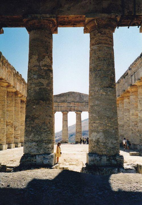 Temple Dorique de Segeste Segesta, Sicily, Italy